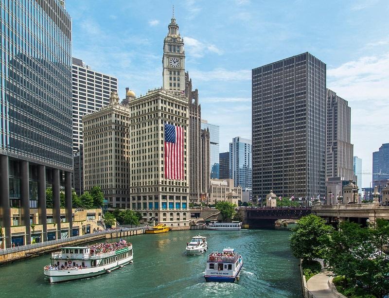 Cruzeiros por Chicago